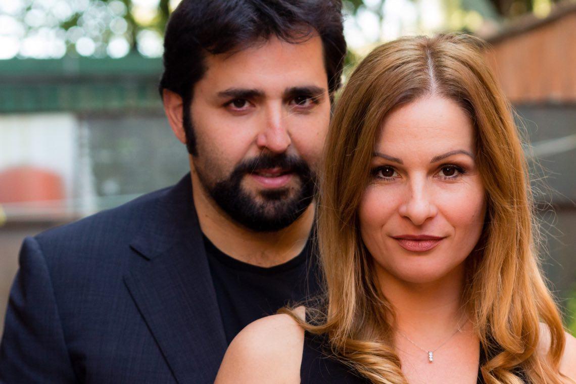 Federico Perrotta e Valentina Olla