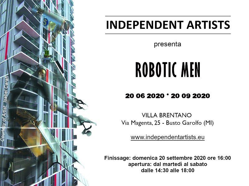 Flyer ROBOTIC MEN x FB