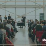 Foto StartCup Lombardia con Logo