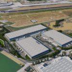 Scannell Properties – Logisticairpark Bologna vista aerea