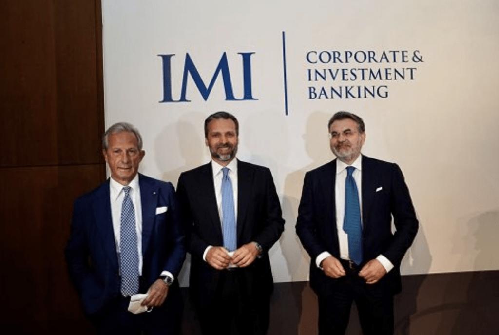 Da sin, Gaetano Miccichè, Mauro Micillo e Massimo Mocio