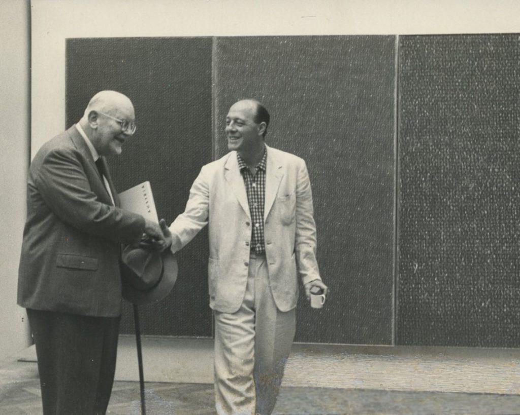 Piero Dorazio e Lionello Venturi, Biennale di Venezia, 1960, Virtual Show, galleria Il Ponte