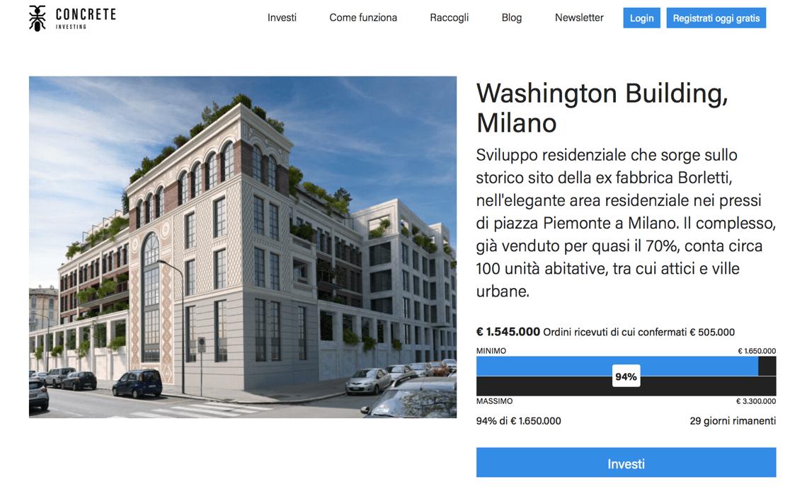 concrete investing washington