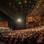 L'auditorium del Großes Festspielhaus di Salisburgo a pieno regime.Fotograf Marco Borrelli, Salzburger Festspiele