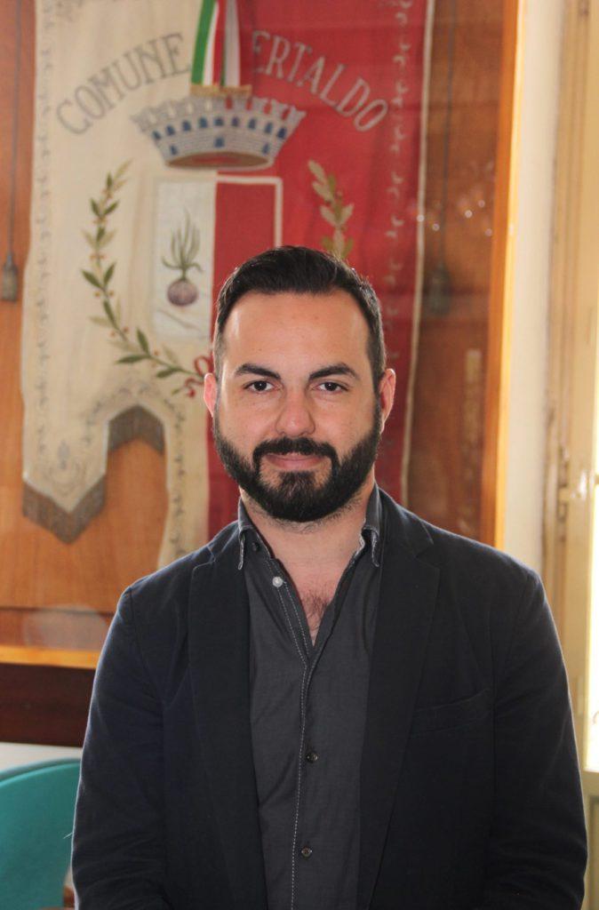 Giacomo Cucini, Sindaco di Certaldo e delegato alla cultura per l'Unione dei Comuni Circondario dell'Empolese Valdelsa. Courtesy Comune di Certaldo