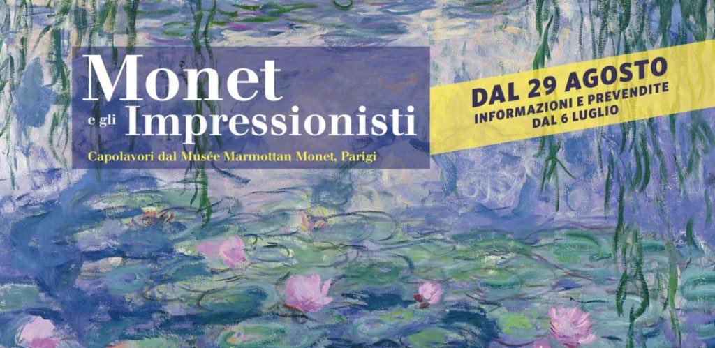 Monet e gli impressionisti Locandina