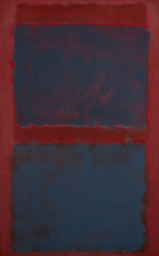 Mark Rothko, Untitled (Black on Maroon) (1958). Per gentile concessione di Sotheby's.
