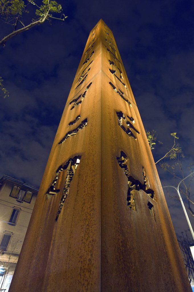 Obelisco per Cleopatra, 1989-2008. Foto Dario Tettamanzi