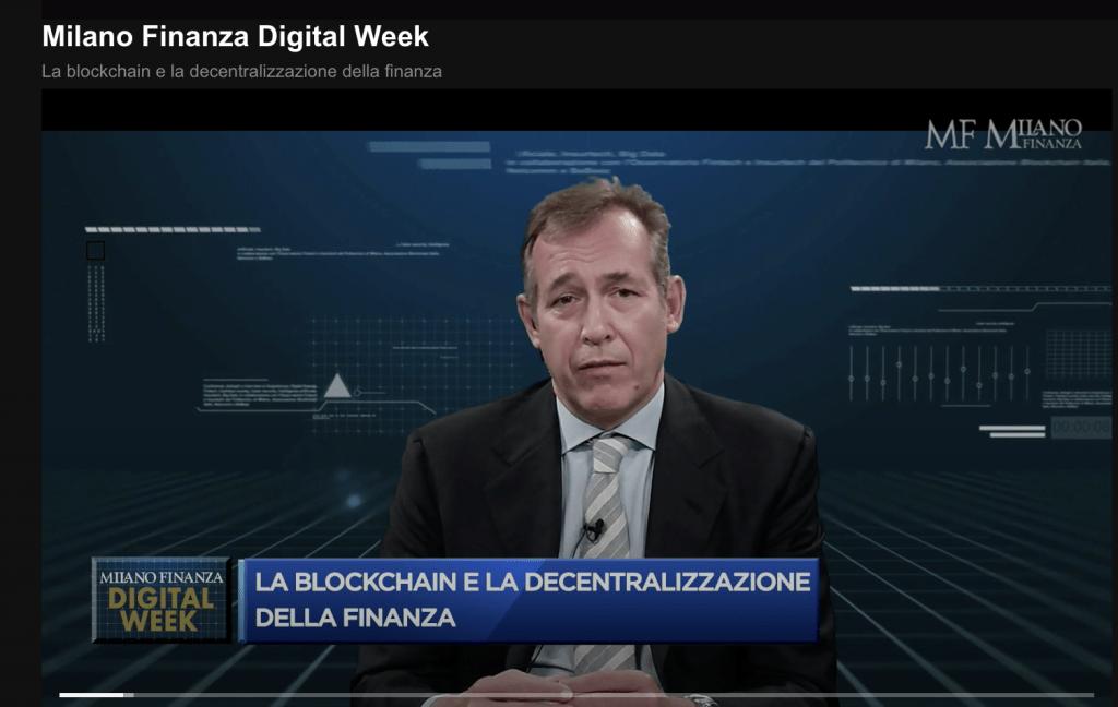Clicca qui sopra per rivedere la tavola rotonda su blockchain e decentralizzazione della finanza