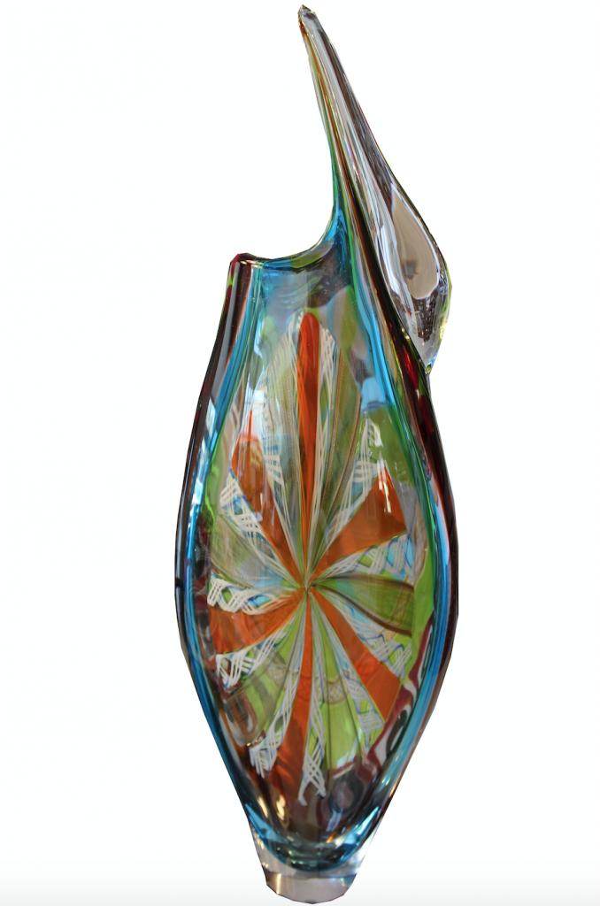 Afro Celotto, Sinfonia . Unico nel suo genere. Per gentile concessione di Casanova Venetian Glass & Art.