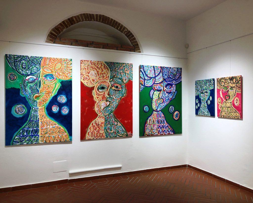 Anna K, Serie Mind and Heart, da sinistra a destra: Blossom, Rebound, Balance e Glimps of Bliss