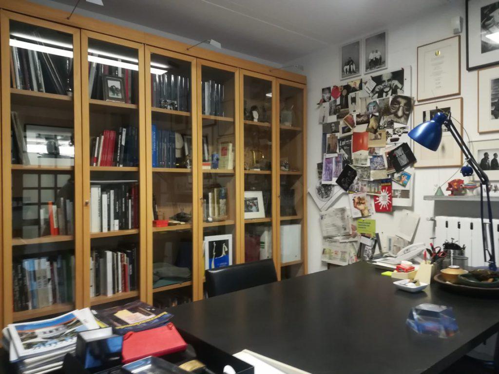 Fondazione Arnaldo Pomodoro, lo studio del Maestro