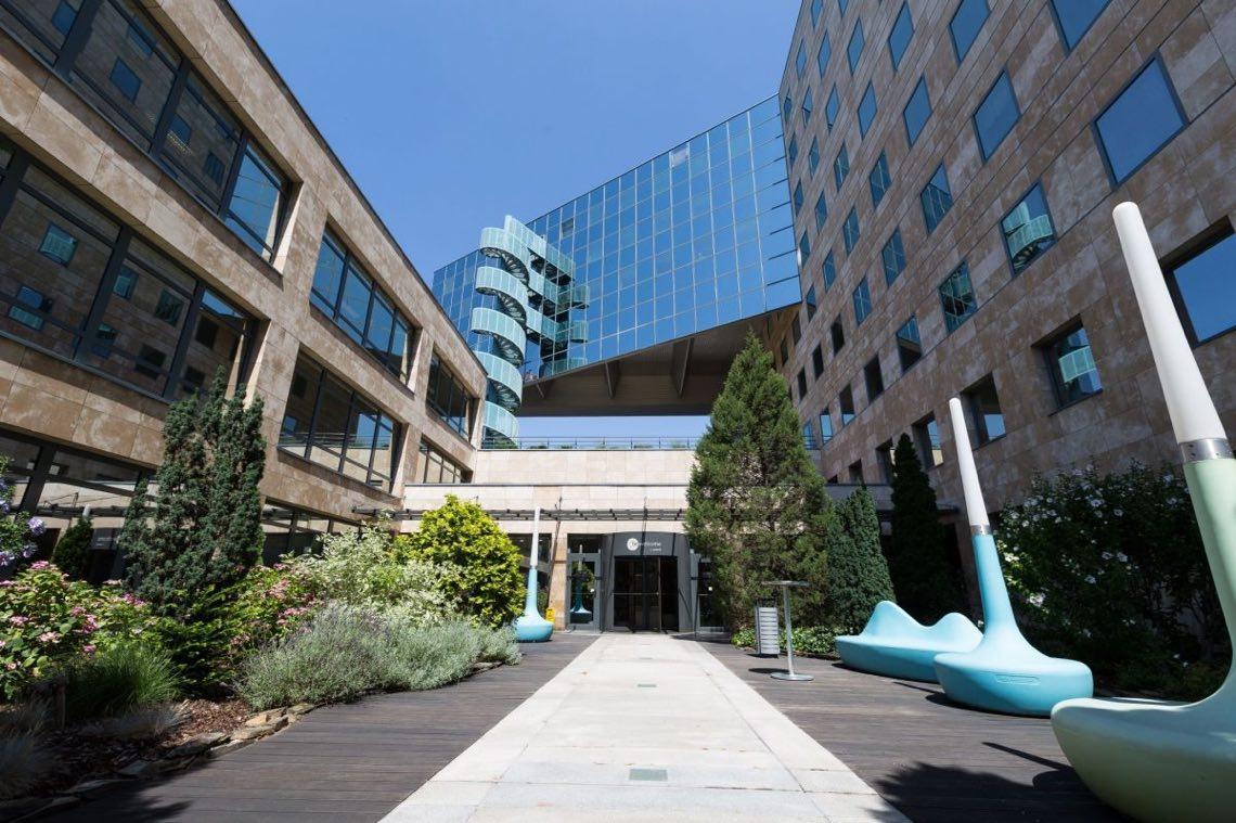 L'International Business Centre (IBC) di Praga