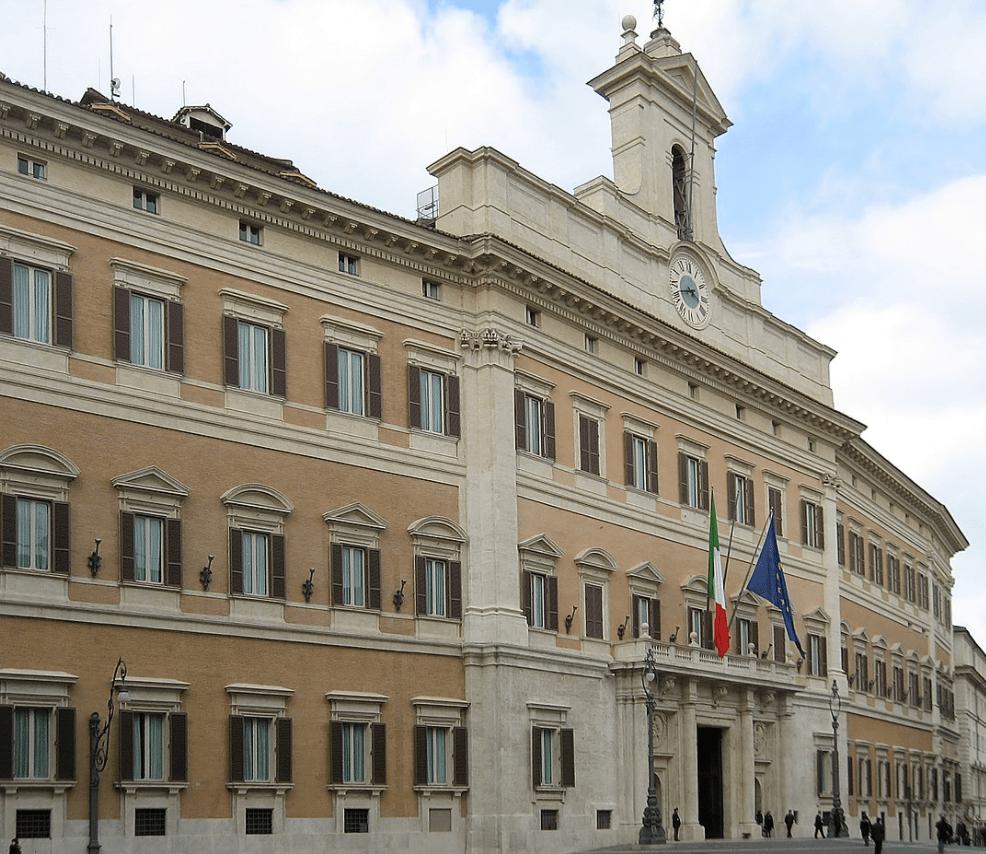Palazzo Montecitorio, sede della Camera