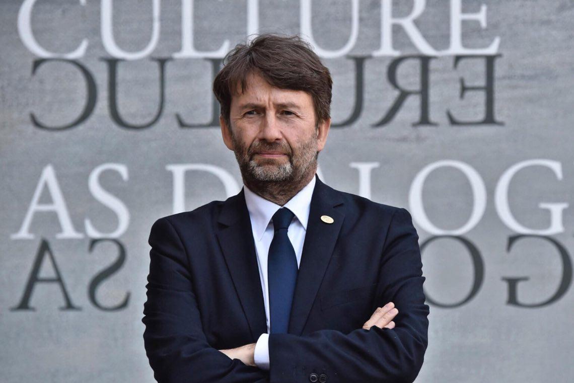 Il Ministro per i beni e le attività culturali e per il turismo, Dario Franceschini