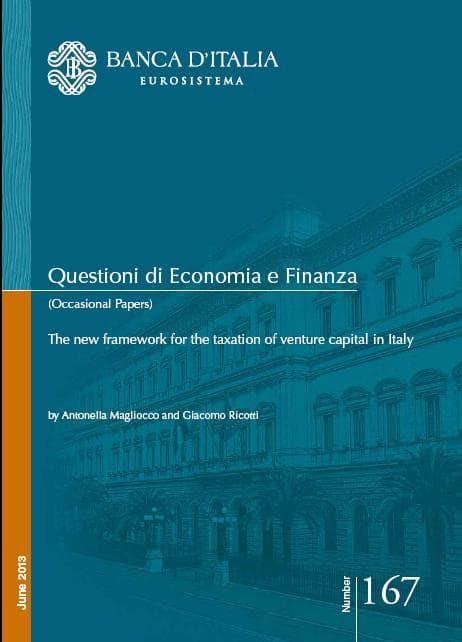 Banca d'Italia venture capital