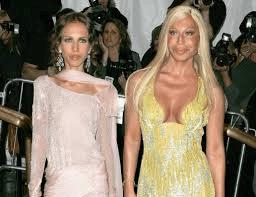 Allegra e Donatella Versace