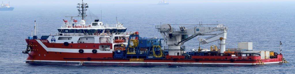 L'Offshore Support Vessel Remas di Micoperi