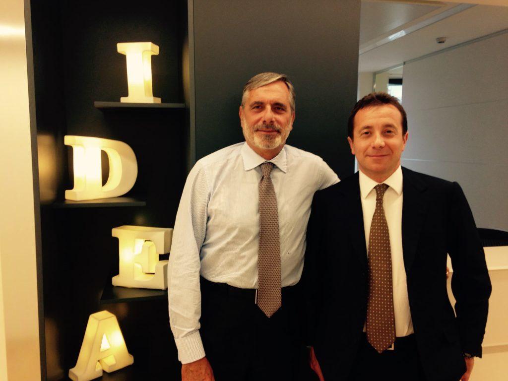 Roberto Saviane e Raffaele Legnani