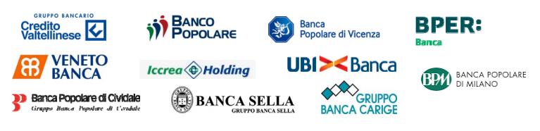 Le banche sinora azioniste di Icbpi