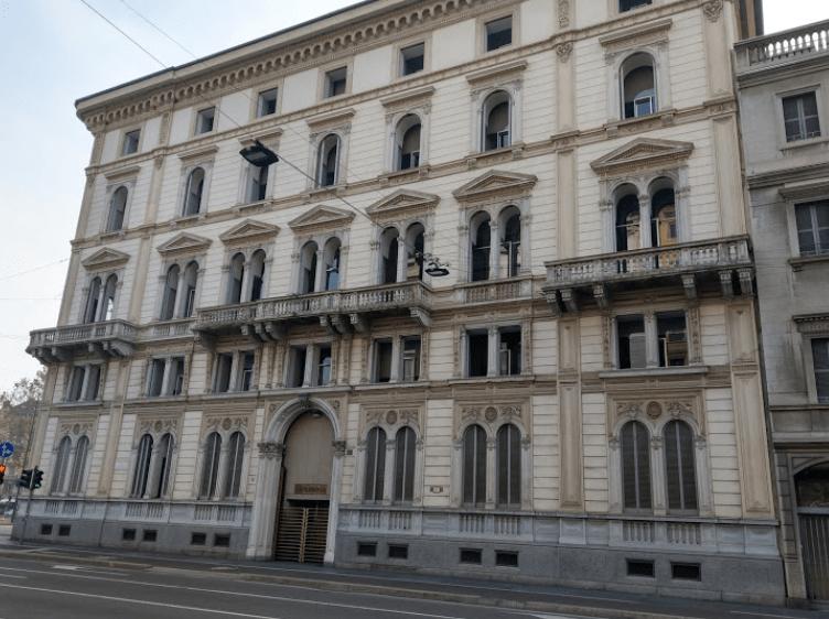 Il palazzo di Corso Venezia 56 a Milano